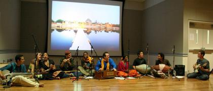 As Kindred Spirits performing at Yoga Mala DC