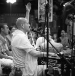 HH Radhanath Swami leads the 24 Hour Kirtan 2008