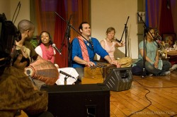 Kirtan at Sadhana Yoga Hudson