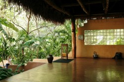 Nosara Yoga Studio - Where our Yoga and Kirtan will be held