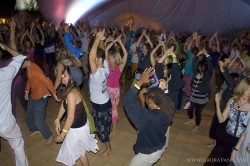 Trance Dance with MC Yogi, DJ Drez, Mayapuris and Shiva Rea after Jai Uttal's Kirtan