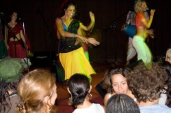 Gangi dances with Shiva Rea