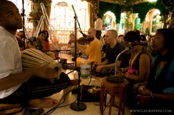Kirtan at the Soho Mandir