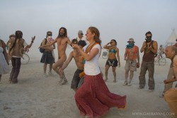 The Dancing and the Dust Storm