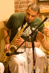 Colin on the Sax